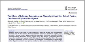 The Effects of Religious Orientations on Malevolent Creativity